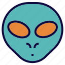 alien, avatar, monster, space icon