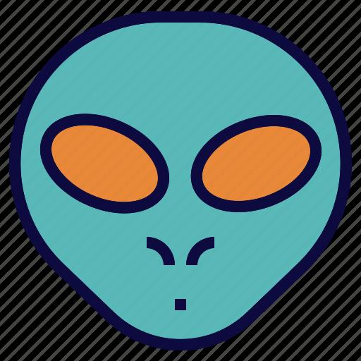 alien, avatar, monster, space icon