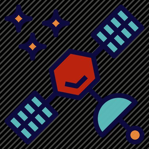 communication, radio, satellite, signal, space icon