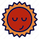 day, solar, space, star, sun icon