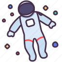 astronaut, astronomy, gravity, observation, space, travel, universe icon