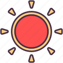 astronomy, cosmos, education, planet, space, sun, universe icon