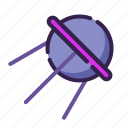 adventure, antenna, astronomy, outer space, satellite, space, sputnik icon