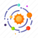 adventure, astronomy, galaxy, orbit, outer space, space, universe icon