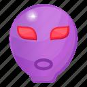 alien, extraterrestrial life, alien face, space avatar, humanoid