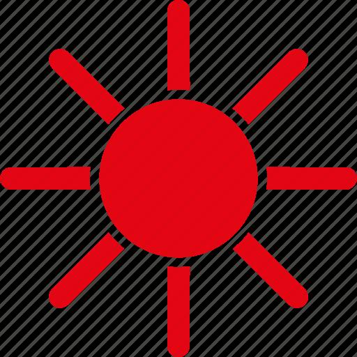 brightness, light, rays, summer, sun, sunny, sunshine icon