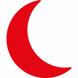 clear, dream, moon, muslim, night, sleep, weather icon