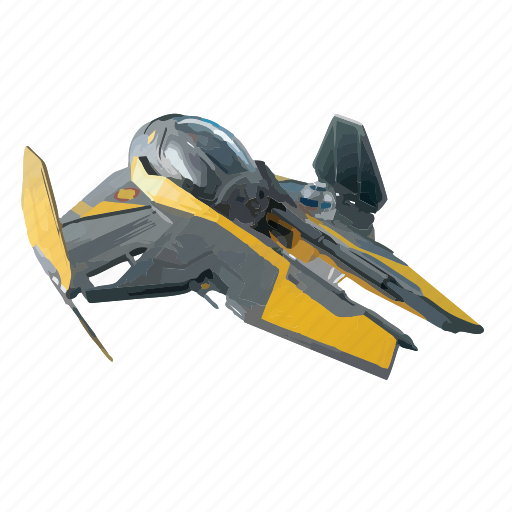fly, pilot, ship, space, star, wars icon