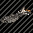 battle, cosmos, ship, space icon