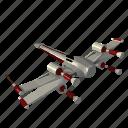 cosmos, ship, space icon