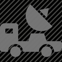 dish, probe, satellite icon