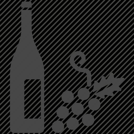 alcoholic, beverage, grapes, liquor, spain, wine icon