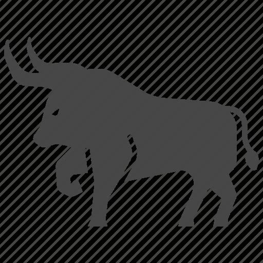 bison, bull, bullfighting, ox, spain, tauromachia, tauromachy icon