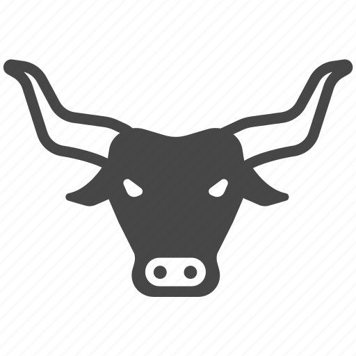 animal, bison, bull, cattle, ox, spain icon
