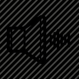 beat, music, noise, sound, speaker, volume, wave icon