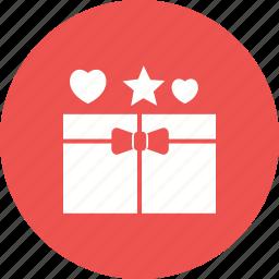 birthday, box, celebration, gift, holiday, open, present icon
