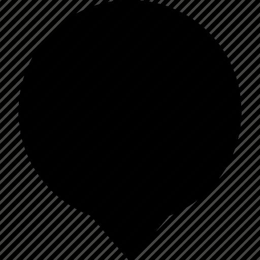 bubble, chat, circle, message, round, speech, symmetrical icon