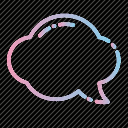 bubble, chat, communication, message, speech, talk, text icon