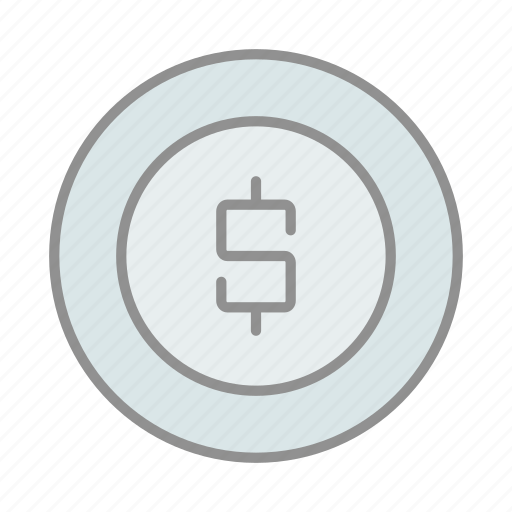 banking, business, coin, commerce, dollar sign, finance, money icon