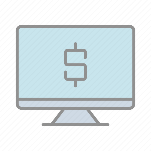 banking, business, commerce, finance, money, online banking, online payment icon