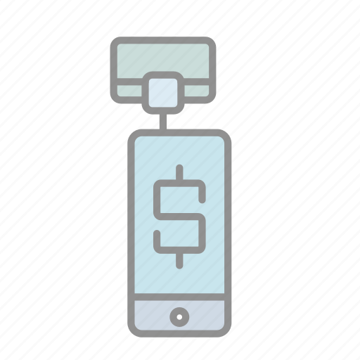 banking, business, commerce, finance, mobile payments, money, square payments icon