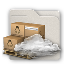 cloud, folder icon