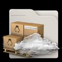 folder, cloud icon
