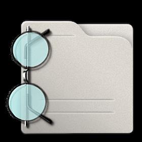 folder, visiting icon