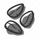 black cumin, cook, food, herb, ingredient, plant, spice icon