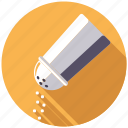 condiment, cooking, food, ingredients, salt, seasoning, shaker icon
