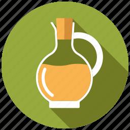 condiment, food, ingredients, jug, oil, seasoning, vinegar icon
