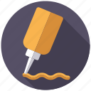 bottle, condiment, food, ingredients, mustard, sauce, seasoning icon