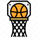 ball, basketball, sport, team icon