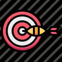 arrow, board, dart, sport