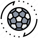 ball, football, soccer, sport, team icon