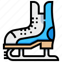 ice, shoes, skate, sport icon