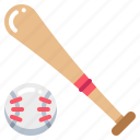 bat, sport, baseball, ball