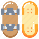 board, roller, skate, skateboard, sport icon