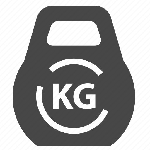 gym, kettlebell, weight icon