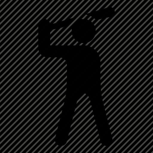 baseball, baseball player, batter, player, watchkit icon