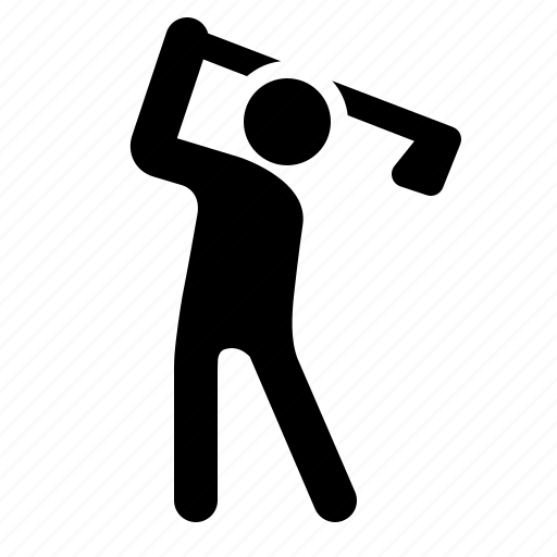golf, golfer, play, player, sport, swing, watchkit icon