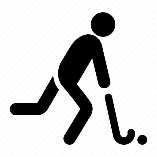 game, hockey, play, sport, stick, team, watchkit icon