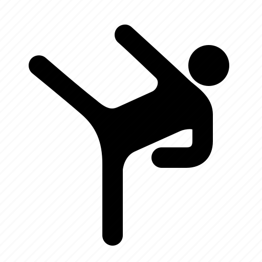 aggression, attack, fight, karate, kickboxing, martial arts, watchkit icon
