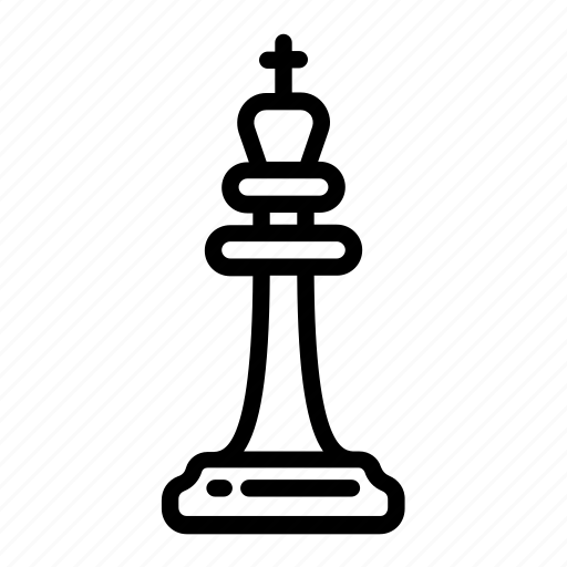 chess, chess piece, game, king, piece, strategy icon
