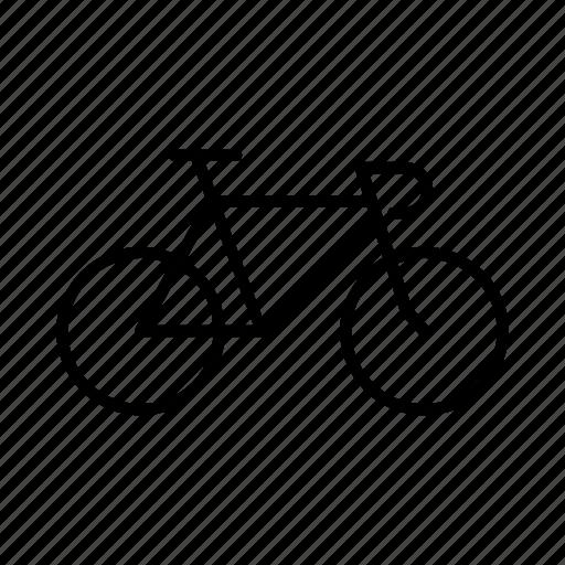 bicycle, bike, cardio, fintess, fixed gear, fixie, sport icon