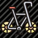 bicycle, bike, racing, speed, vehicle icon