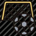 field, football, goal, kickoff, soccer