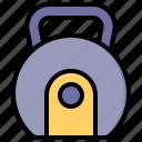 kettlebell, fitness, gym, dumbbell