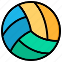 volleyball, sport, game
