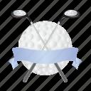 golf, ball, game, sports, stick
